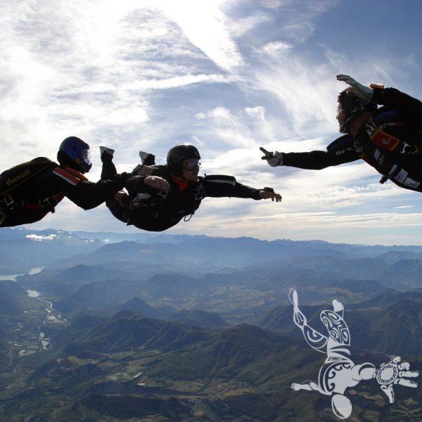 1 ème saut en parachute stage PAC