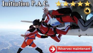 Saut d'initiation PAC, réservation ou billet cadeau