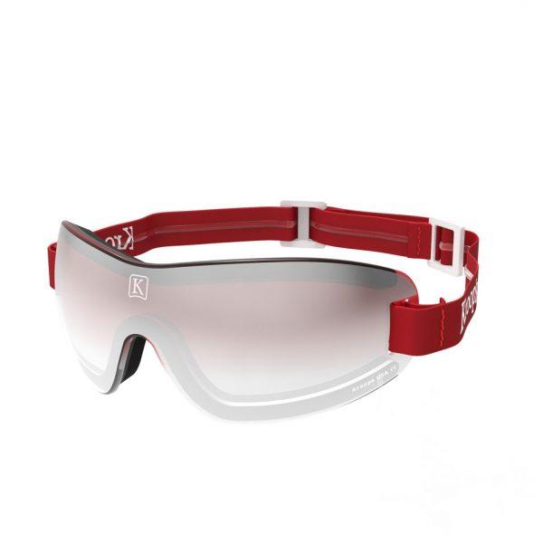 IK91 kroop's goggles rouge red