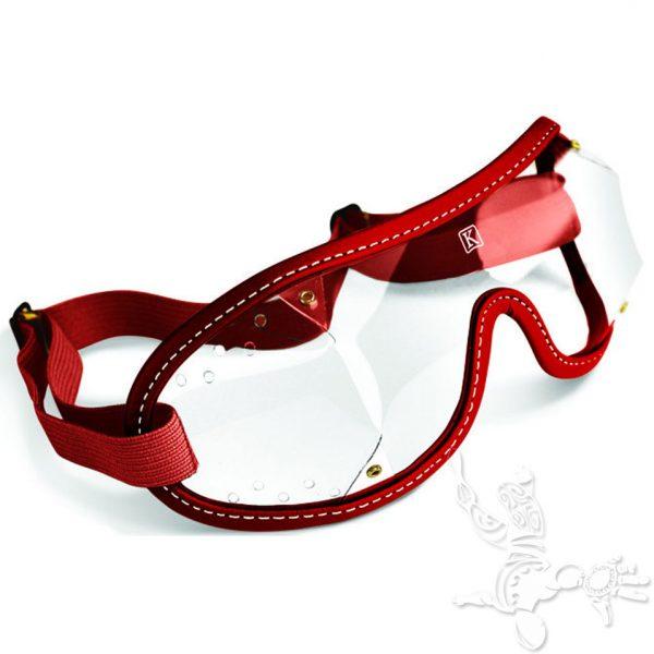 Kroop's Boogie goggles rouge