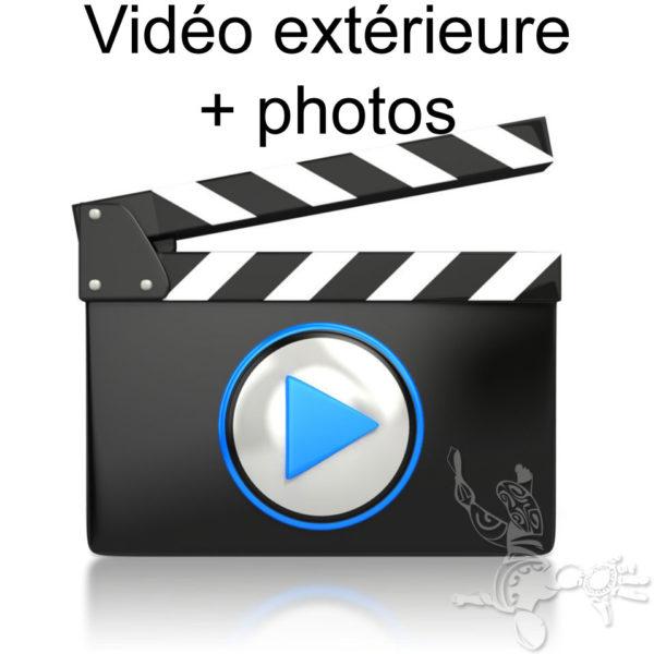 Vidéo extérieure et photos tandem