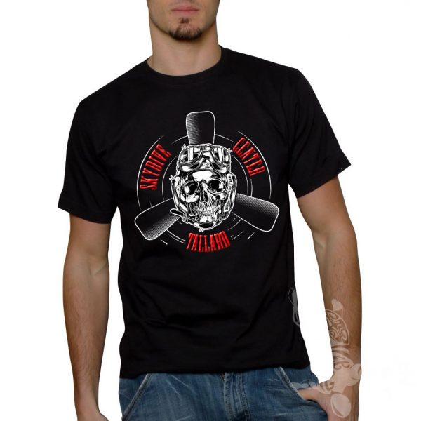 t-shirt homme parachutisme