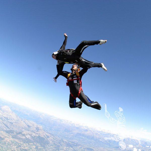 2 ème saut en parachute stage PAC