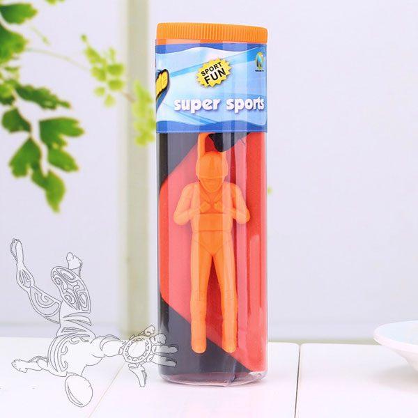 Jouet parachute orange