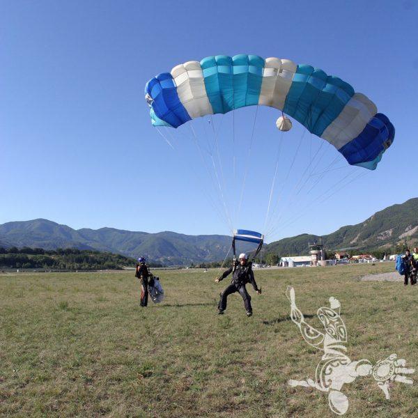 Pose en parachute élève PAC