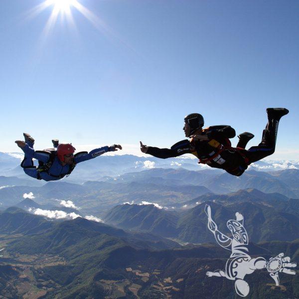 4 ème saut en parachute stage PAC