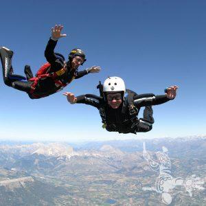3 ème saut en parachute stage PAC