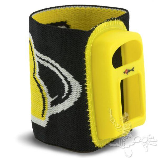 Bracelet viso 2 Noir jaune