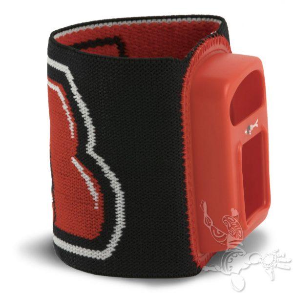 bracelet Viso 2 rouge noir