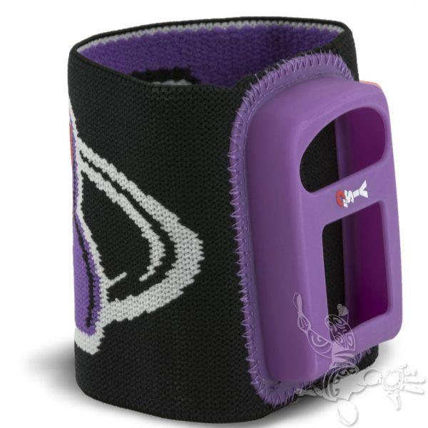 Bracelet Viso 2 Noir violet