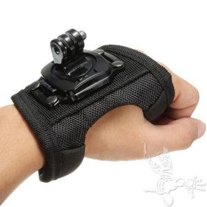 Gant pour caméra embarquée sur poignet