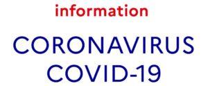 information corona virus