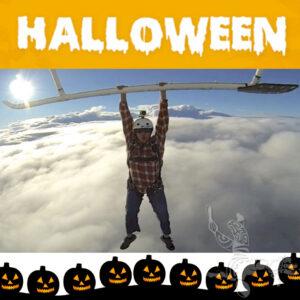 Halloween saut d'hélicoptère